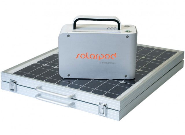 Find out more about hiring the Solarpod generator