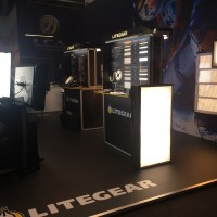 Litegear litemats on the LCA stand at IBC Show 2016