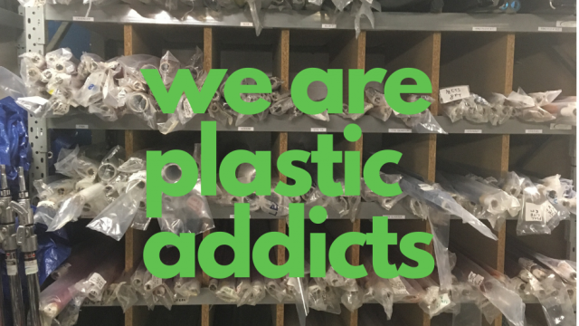 We are plastic addicts – time to detox