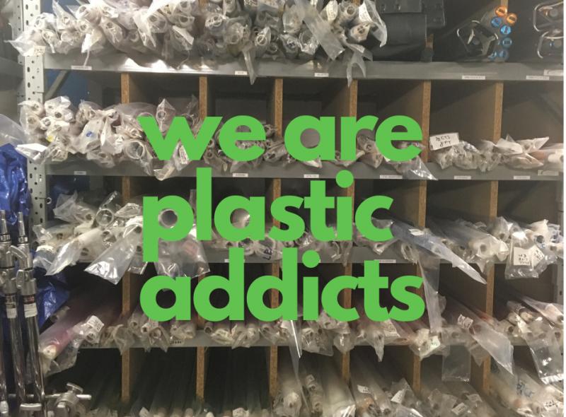 We are plastic addicts