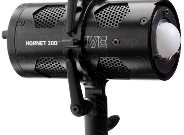 Find out more about hiring the Hornet 200-C – colour changing fresnel